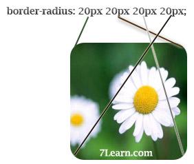 radiusOrder انواع مختلف گرد و خمیده کردن حاشیه ها در CSS 3
